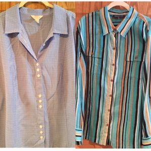2 for 1 price 2X Blouse Lot